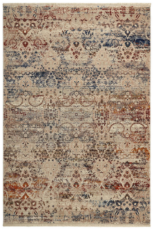 VINTAGE-TEPPICH - Multicolor, LIFESTYLE, Textil (133/185/cm) - Esposa