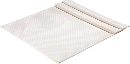 TISCHDECKE Textil Jacquard Creme 135/170 cm - Creme, Basics, Textil (135/170cm)