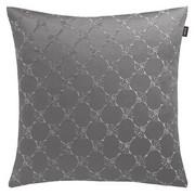 KISSENHÜLLE Grau, Silberfarben 40/40 cm - Silberfarben/Grau, Textil (40/40cm) - Joop!