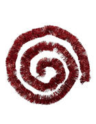GIRLANDE  Rot   - Rot, Basics, Kunststoff (270cm) - X-Mas