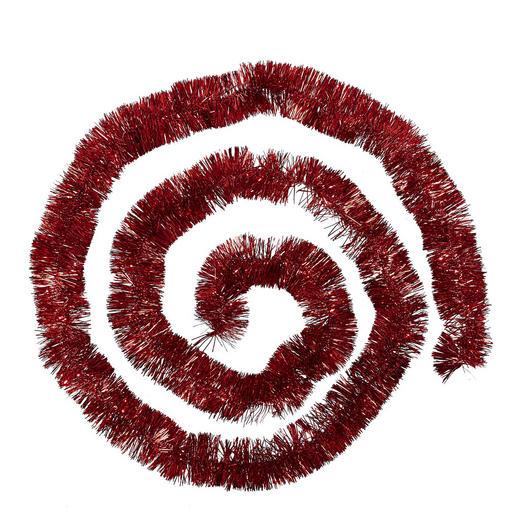 GIRLANDE  Rot - Rot, Basics, Kunststoff (270cm)