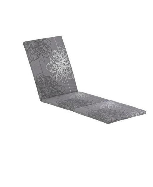 LIEGENAUFLAGE Blume - Weiß/Grau, Design, Textil (60/4/200cm) - Kettler HKS