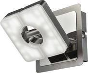 LED-STRAHLER - Nickelfarben, Design, Kunststoff/Metall (10/10cm) - Novel