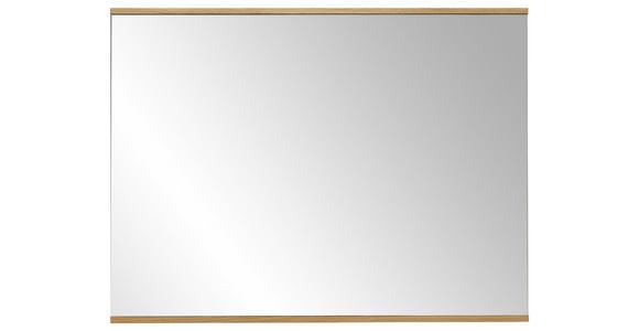 SPIEGEL  - Eichefarben, Design, Glas/Holz (82/61cm) - Dieter Knoll