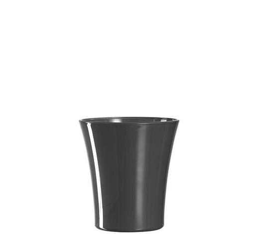 ORCHIDEENÜBERTOPF - Grau, Basics, Glas (15cm) - Leonardo