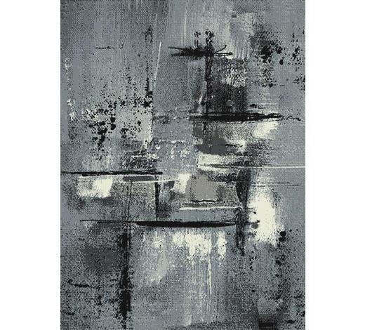WEBTEPPICH - Grau, KONVENTIONELL, Textil (80/150cm) - Boxxx