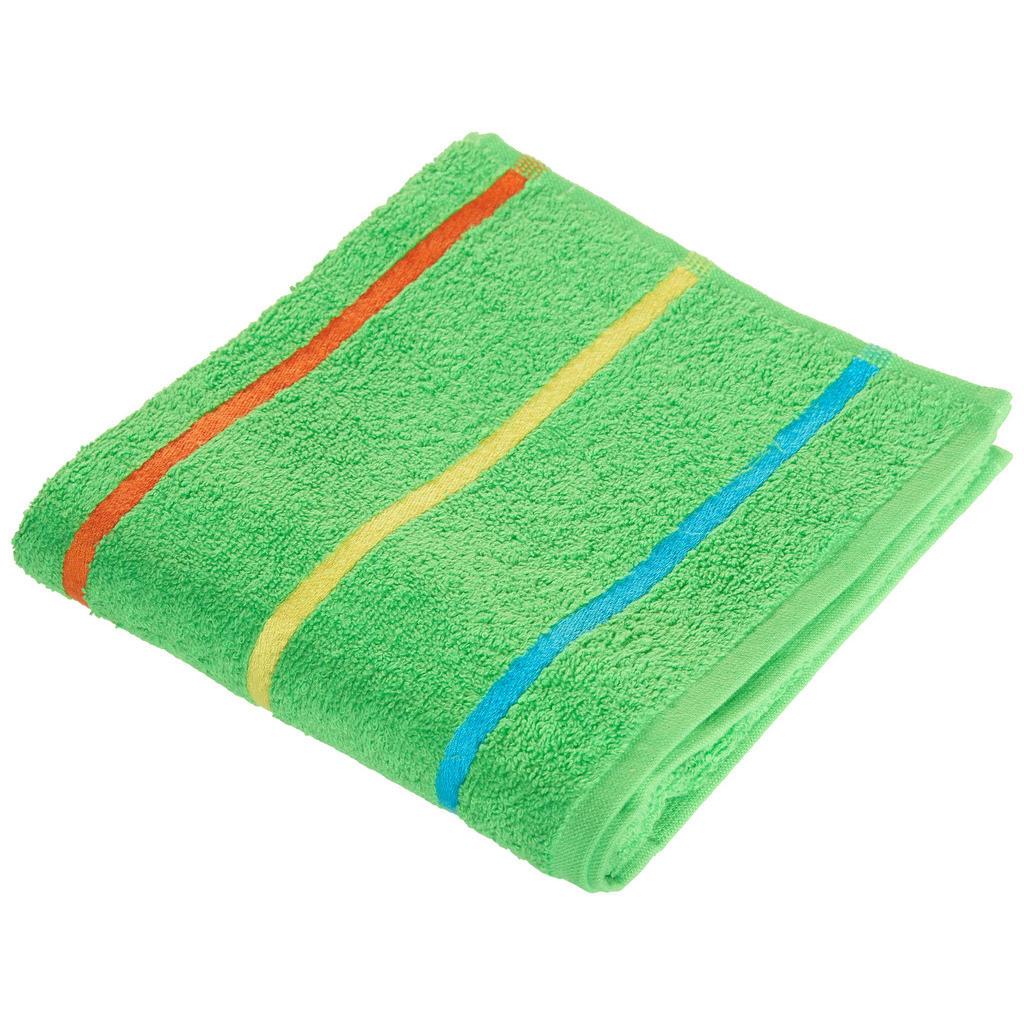 Image of Ben'n'jen Handtuch 50/90 cm , Funny , Grün , Textil , Streifen , 50x90 cm , saugfähig, hochwertige Qualität , 004893009902