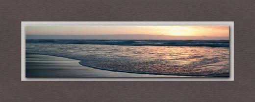 Strand & Meer GLASBILD - Multicolor, Design, Glas (50/125/3cm) - Eurographics