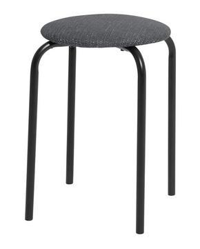 PALL - svart/grå, Klassisk, metall/textil (30/45cm)