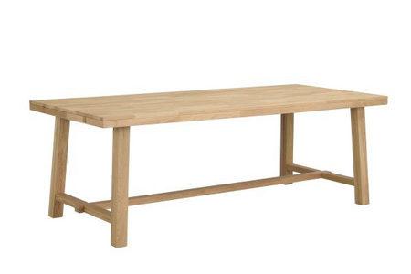 MATBORD - ekfärgad, Klassisk, trä (220/95/76cm) - Rowico