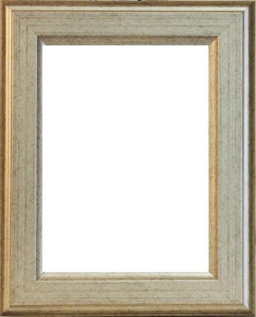 BILDERRAHMEN in Silberfarben - Silberfarben, Basics, Holz (13/18cm)