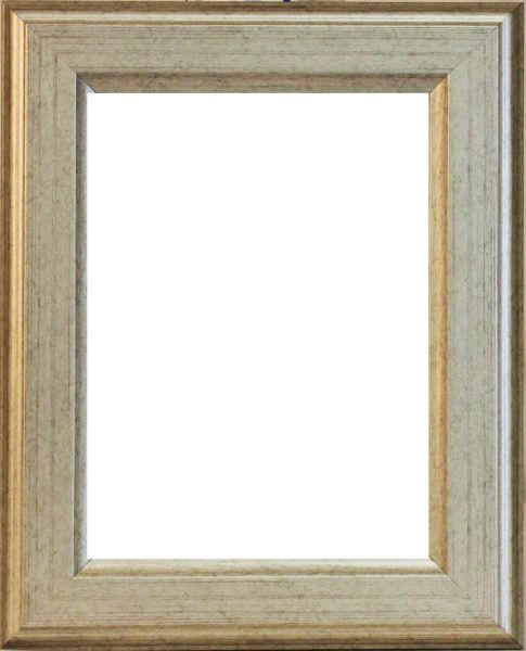 RÁM NA OBRAZY - barvy stříbra, Basics, dřevo (13/18cm)