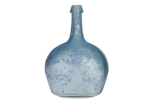 VASE 26 cm - Hellblau, Trend, Glas (38cm)