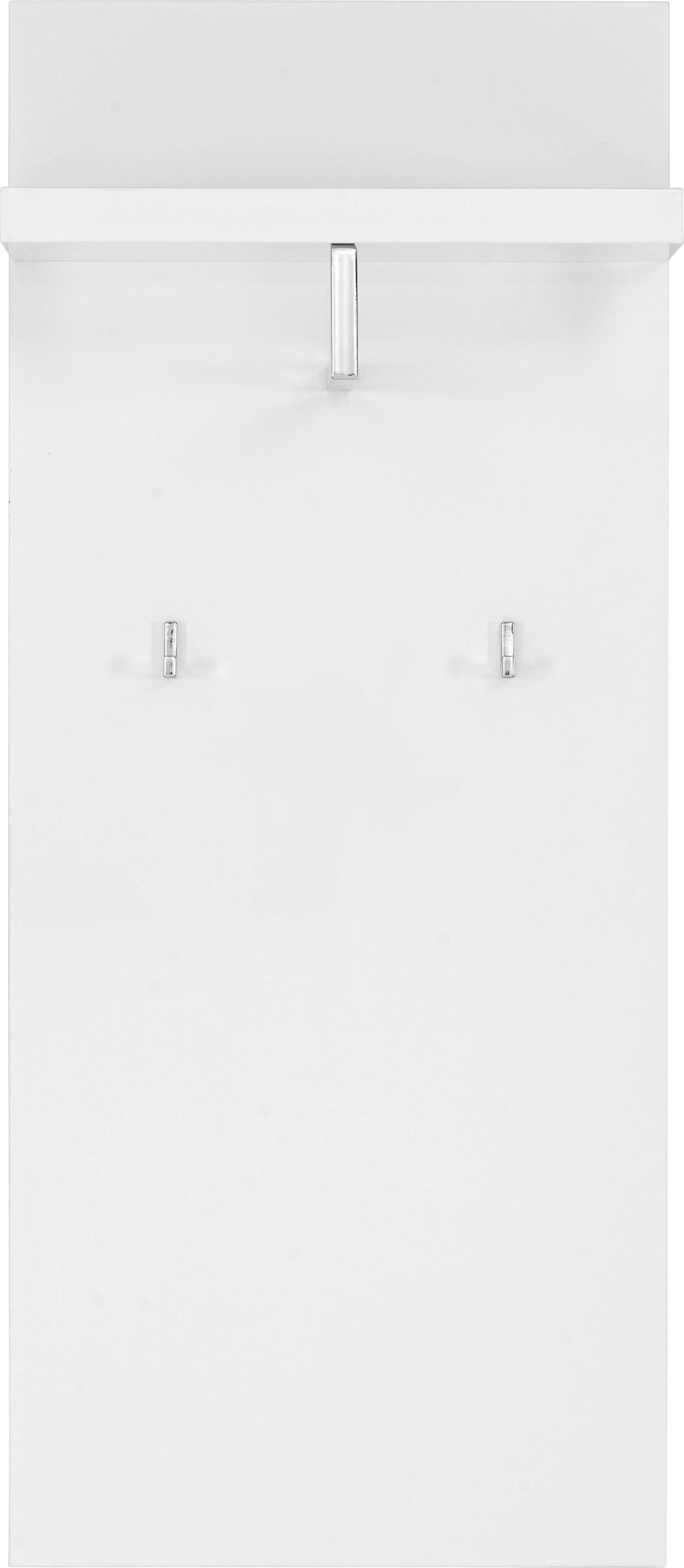 KLÄDHÄNGARE - vit, Modern, trä (51/121/25cm) - CARRYHOME