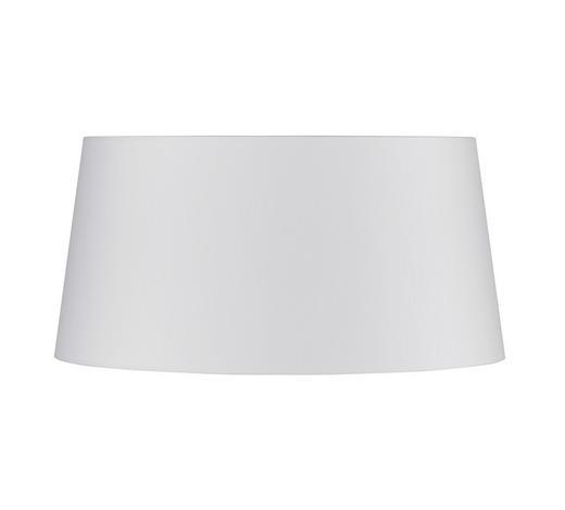 LEUCHTENSCHIRM - Weiß, Design, Kunststoff/Weitere Naturmaterialien (45/22cm)