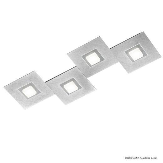 LED-DECKENLEUCHTE - Titanfarben, Design, Metall (80/30/5cm) - Grossmann