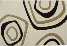 Webteppich Kilian 160x230 cm - Beige/Braun, KONVENTIONELL, Textil (160/230cm) - Ombra