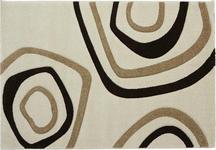 Webteppich Kilian 80x150 cm - Beige/Braun, KONVENTIONELL, Textil (80/150cm) - Ombra