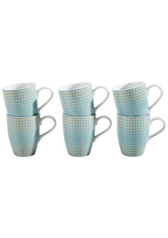 KAFFEEBECHER - Multicolor, Basics, Keramik (30,9/29,2/12,4cm) - Thomas