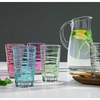 LONGDRINKGLAS - grön, Design, glas (7,50/12,60/7,50cm) - LEONARDO
