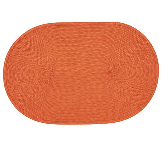TISCHSET 30/45 cm Textil  - Orange, Basics, Textil (30/45cm) - Homeware