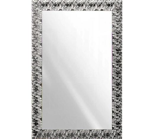 NÁSTĚNNÉ ZRCADLO, 70/110/2 cm,  - bílá/barvy stříbra, Design, dřevo/sklo (70/110/2cm)