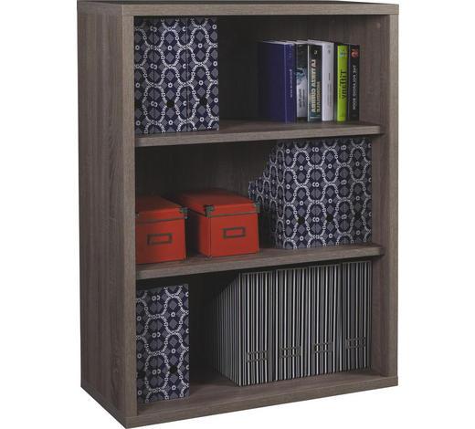 PISARNIŠKI REGAL 82/112/36 cm hrast sonoma  - hrast sonoma, Design, leseni material (82/112/36cm) - Carryhome