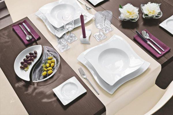 FRÜHSTÜCKSTELLER 20/26 cm - Weiß, Basics, Keramik (20/26cm) - VILLEROY & BOCH