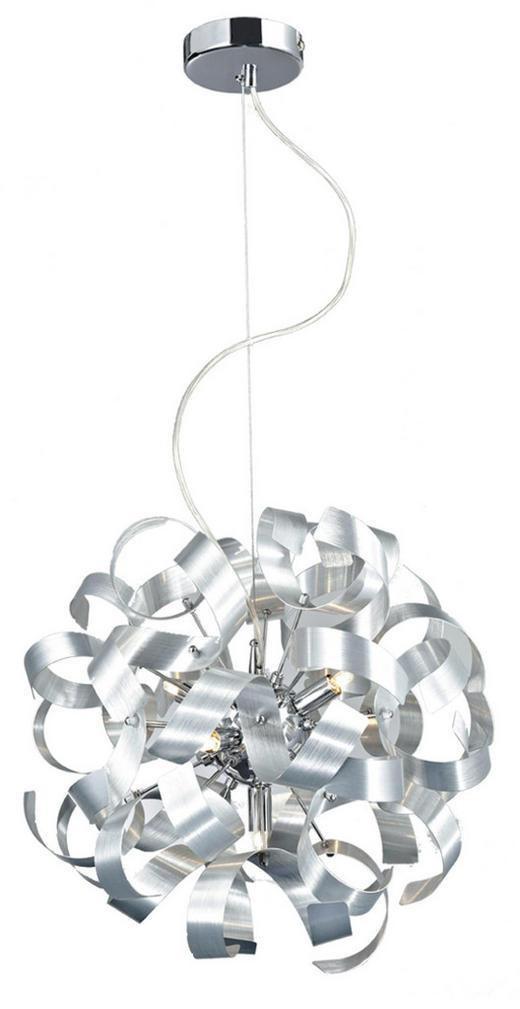LED-HÄNGELEUCHTE - Chromfarben, Design, Metall (40/320cm) - Ambiente