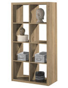 PREGRADA - hrast Sonoma, Design, drvni materijal (77/147/38cm)