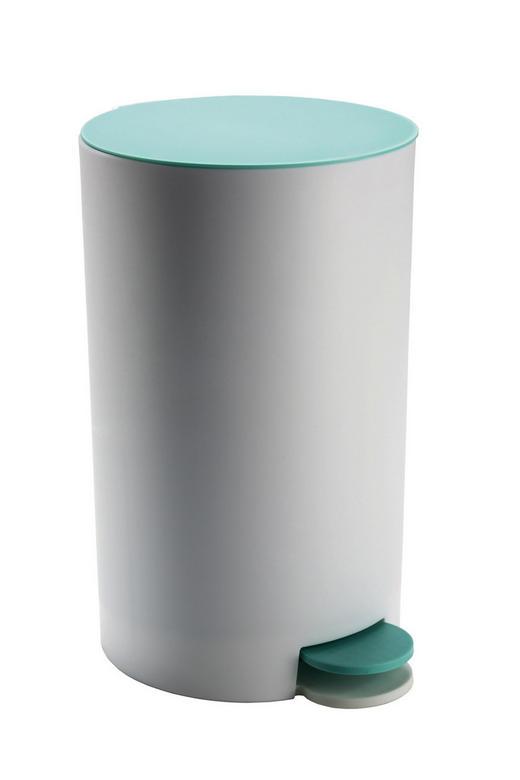 KOSMETIKEIMER Metall - Schwarz/Hellgrün, Basics, Kunststoff/Metall (7,5/18cm) - Kleine Wolke