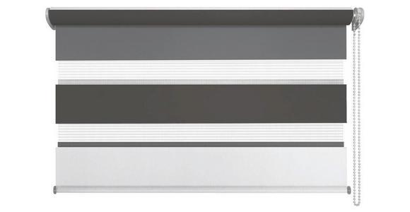 DUOROLLO - Anthrazit/Weiß, Design, Textil (60/160cm) - Homeware
