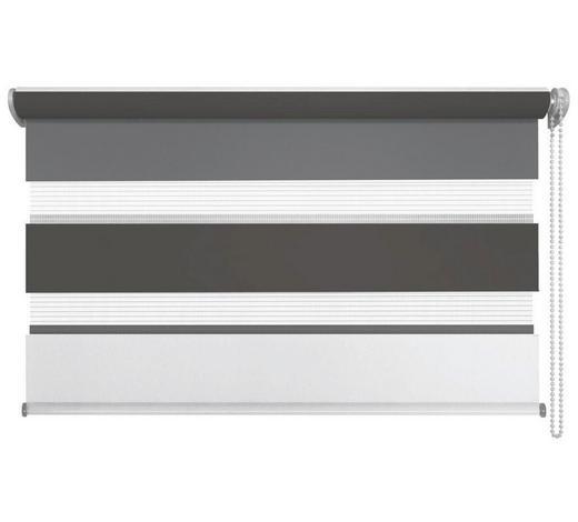 DUOROLLO 60/160 cm - Anthrazit/Weiß, Design, Textil (60/160cm) - Homeware