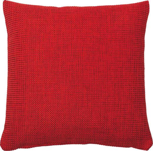 KISSENHÜLLE Rot 40/40 cm - Rot, Basics, Textil (40/40cm)