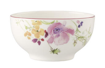 SCHALE Keramik Fine China - Multicolor/Weiß, Basics, Keramik (0,75l) - Villeroy & Boch