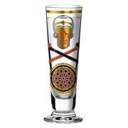 SCHNAPSGLAS 40 ml - Platinfarben/Goldfarben, Trend, Glas (6/6/14cm) - Ritzenhoff