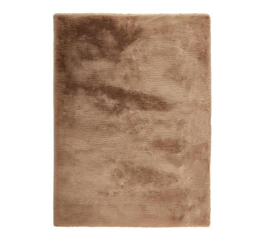 HOCHFLORTEPPICH - Taupe, KONVENTIONELL, Textil (70/130cm) - Novel