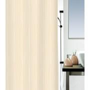 Duschvorhang 180/200 cm - Beige, Konventionell, Textil (180/200cm) - Spirella