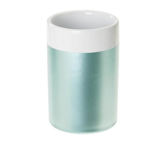 KUPAONSKA ČAŠA - tirkizna, Basics, keramika (6.5/10/6.5cm) - Celina