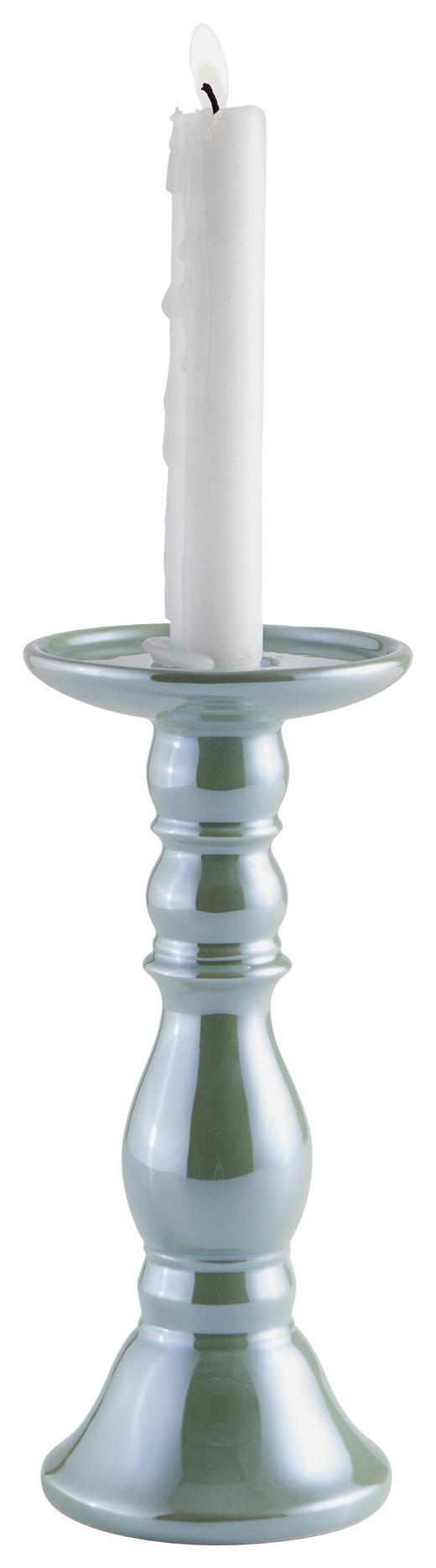 KERZENHALTER - Mintgrün, Basics, Keramik (11/24,5cm) - Ambia Home