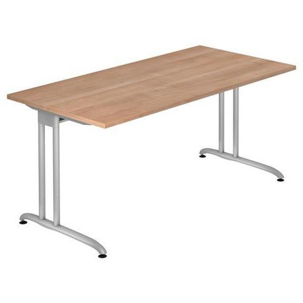 XXXLutz Schreibtisch nussbaumfarben