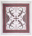 STRANDTUCH 210/250 cm - Rot/Schwarz, LIFESTYLE, Textil (210/250cm) - Esposa