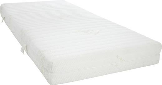 MATRATZE 90/200 cm - Weiß, Basics, Textil (90/200cm) - Novel
