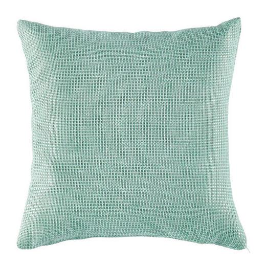 KISSENHÜLLE Mintgrün 50/50 cm - Mintgrün, Design, Textil (50/50cm) - Novel