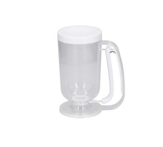 TEIGPORTIONIERER - Transparent/Weiß, Kunststoff (0,9l)