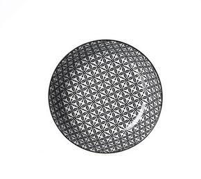 DJUP TALLRIK - vit/svart, Trend, keramik (20,5cm) - Ritzenhoff Breker