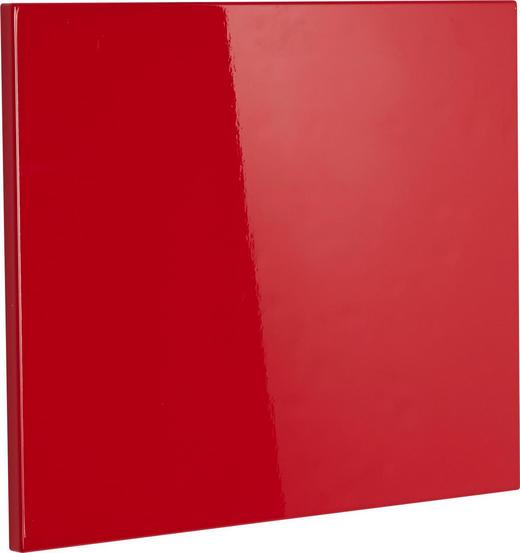 Klappe für Schuhschrank Rot - Rot, Design (52/42cm) - Xora