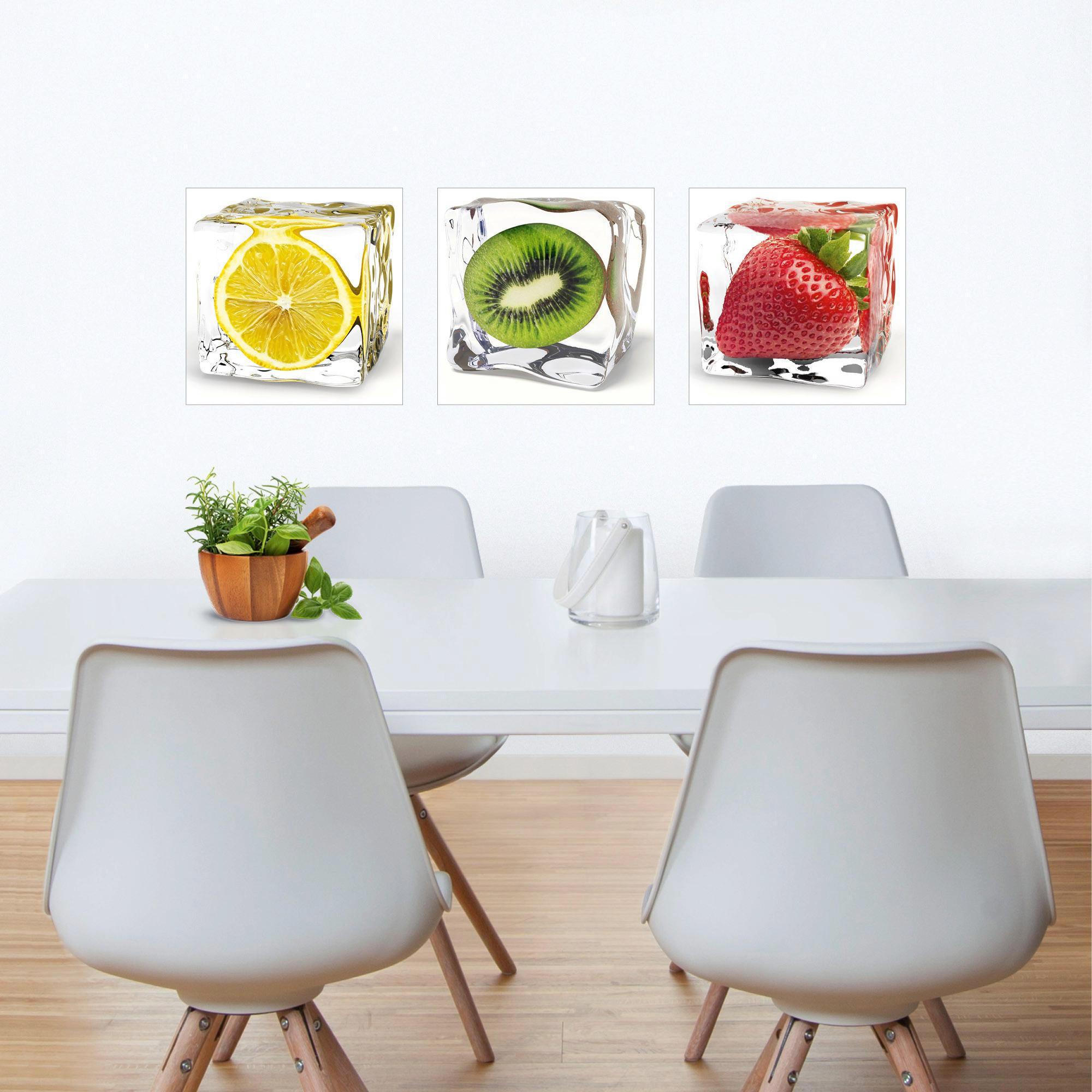 WANDSTICKER - Multicolor, Design, Kunststoff (30/30cm) - EUROGRAPHICS