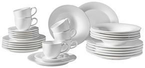 KAFFESERVIS - vit, Basics, keramik - Ritzenhoff Breker