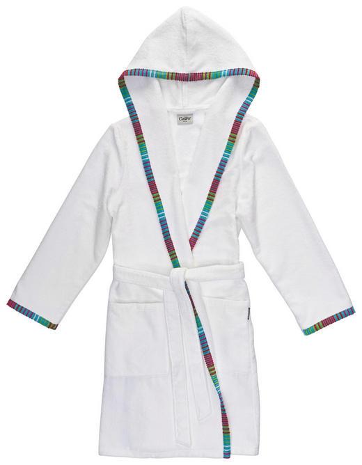 BADEMANTEL  Weiß - Weiß, Basics, Textil (36/38) - CAWOE